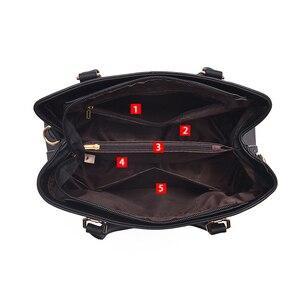 Image 5 - Luxury Handbags Women Bags Designer PU Leather Casual Tote Bag Ladies Hand Bags Women Shoulder Messenger Bag Sac A Main Femme