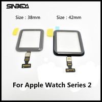 Sinbeda Brand New 38mm Or 42mm Touch Screen Panel Glass Digitizer For Apple Watch Series 2