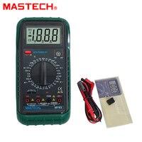 MASTECH MY63 Auto Ranging Multímetro Digital DMM Teste De Capacitância Freqüência