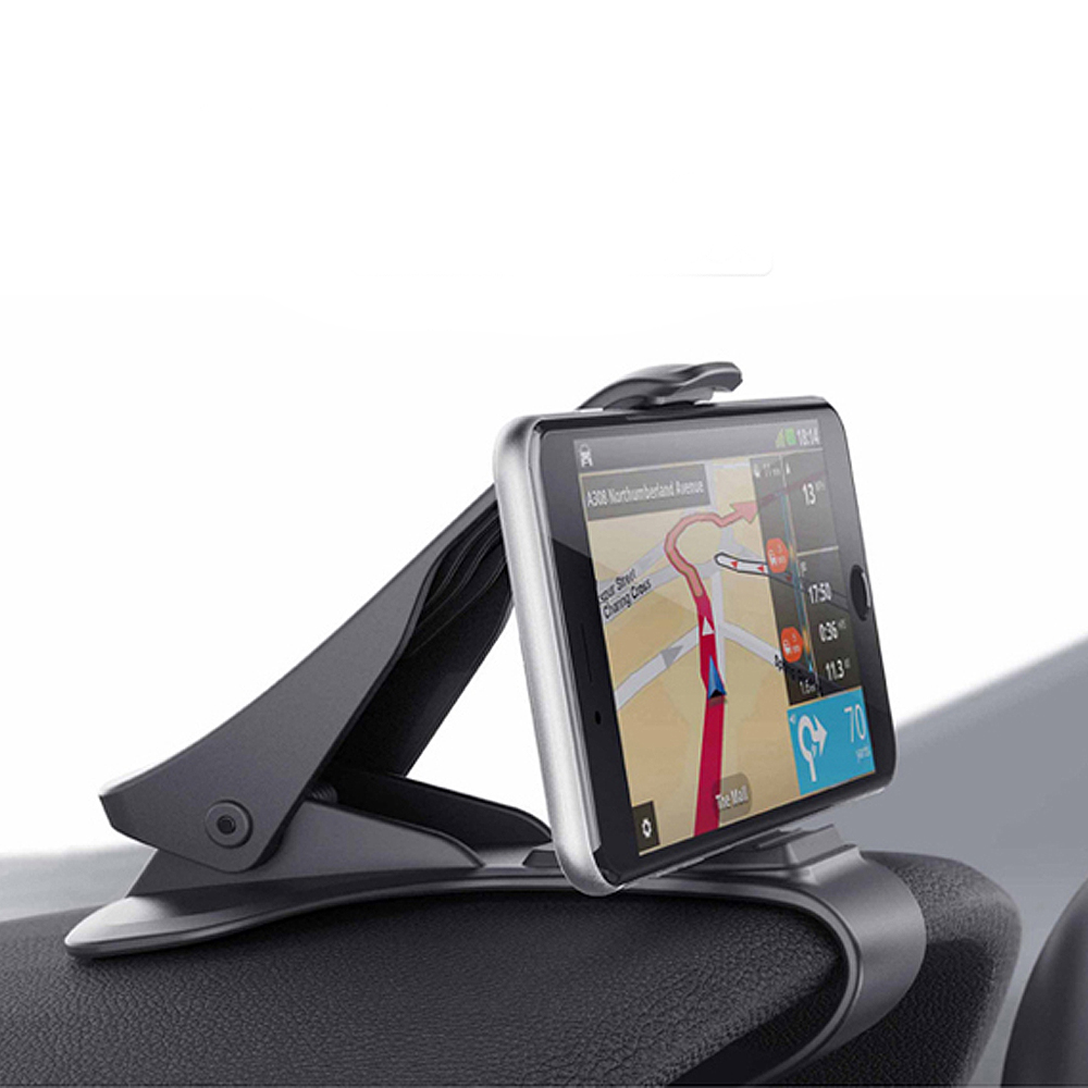 Durable New Black Car Dashboard Clamp Clip Mount Holder Stand for Mobile Devices ...