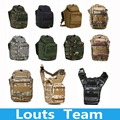 Climbing Bags 600D Molle Airsoft Tactical Camera Bag Messenger Shoulder Strap Backpack Saddle Pouch Bag 11 Color