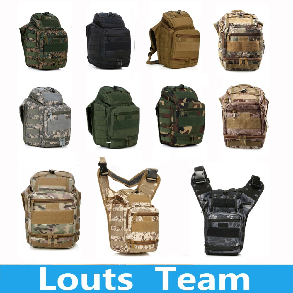 Climbing Bags 600D Molle Airsoft Tactical font b Camera b font Bag Messenger Shoulder Strap Backpack