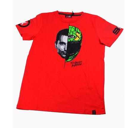 Route 666 Motard Classique T Shirt Homme Coton T-shirt Six Six Six