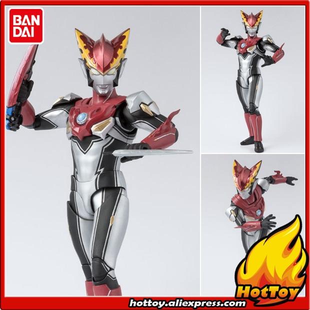 100% Original BANDAI SPIRITS Tamashii Nations S H Figuarts SHF Action  Figure - Ultraman Rosso Flame