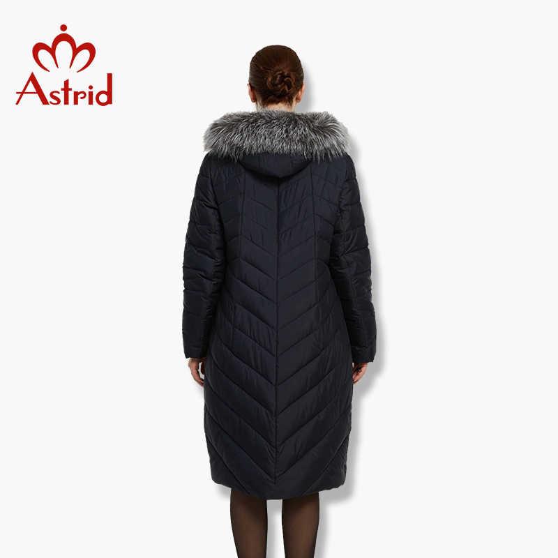 2017 Астрид большой Размеры зима Для женщин куртка теплая пуховая куртка Для женщин большой Мужские парки новая зимняя хлопковая верхняя одежда FR-1523
