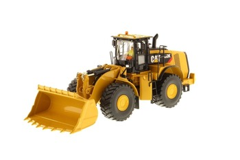 Diecast Toy Model DM 1:50 Scale Caterpillar CAT 980K Wheel Loader-Rock Configuration 85296 for Boy Gift,Collection,Decoration