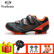 Tiebao Cycling shoes MTB Mountain Bike Shoes Racing SPD pedals Sneakers Mens Self-Locking Athletic Riding Bicycle