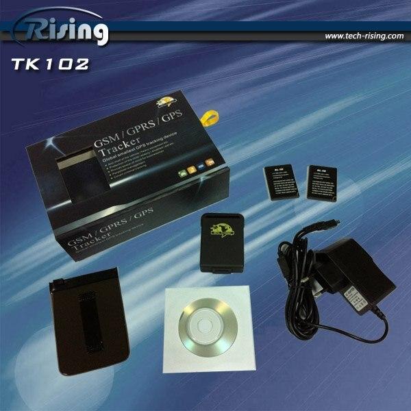 mini gps tracker tk102 & elder / kid / pet / car gps receiver