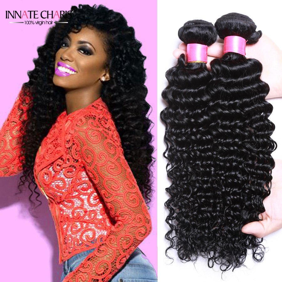 Pineapple Wave Hair Brazilian Deep Wave 4pcs Meches
