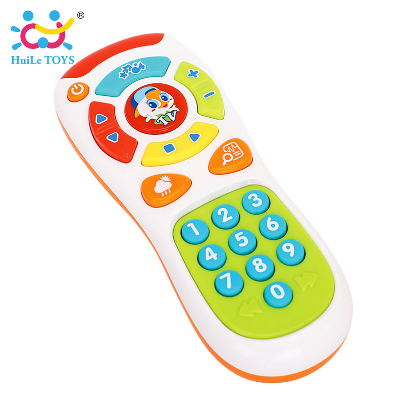 HUILE-TOYS-3113-Baby-Toys-Electric-Click-Count-Remote-with-Light-Music-Kids-Early-Learning-Educational-Toys-for-Toddler-Gift-5