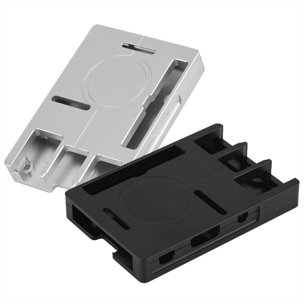 Aluminum Alloy Case Box Cover Enclosure for Raspberry Pi 3/2/B+