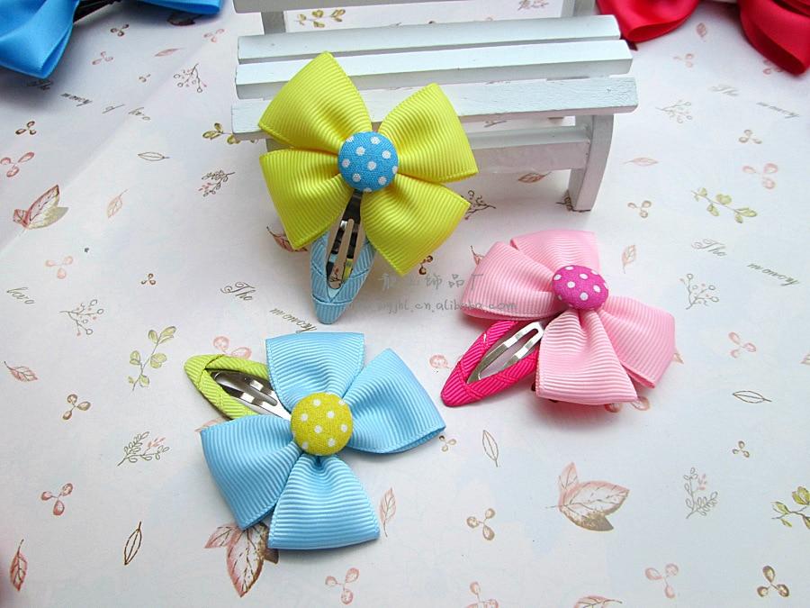 Aliexpress.com Comprar Hechos a mano lindo horquillas del arco niñas bebés niños accesorios para el cabello clip para del pelo barrettes de headwear al por