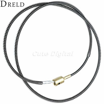 1Pc 98CM Dremel Accessories Flexible Shaft for Rotary Tool Flex Shaft Cable Fits Dremel Grinder Drill Power Tool Accessories  earrings