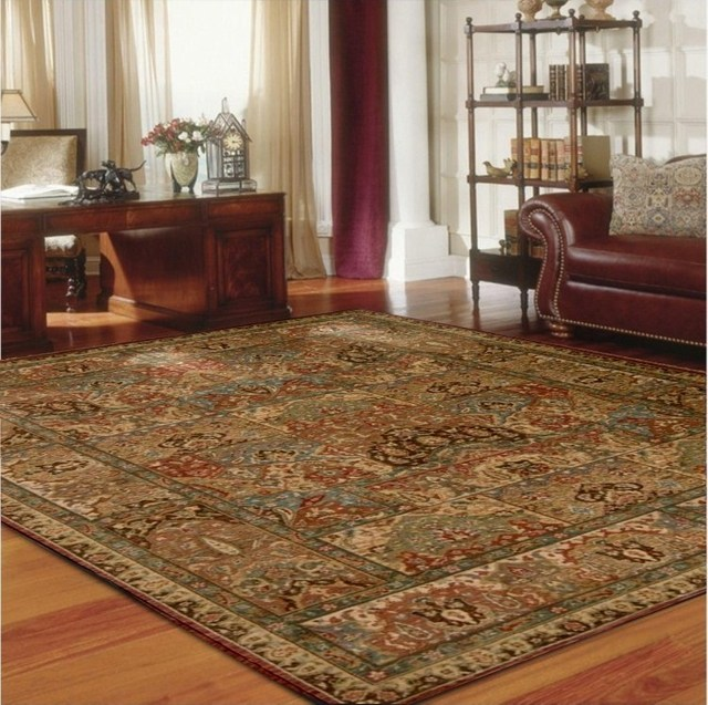 Fashion pure wool persian carpet sofa coffee table carpet bedroom bed carpet