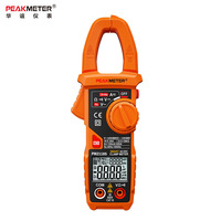 PEAKMETER PM2118S Smart AC/DC Clamp Meter Digital multimeter Auto Range 6000 Count 600V Volt Amp Ohm meter NCV Frequency Tester