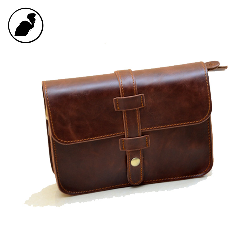 ETONWEAG Brands Cow Leather Women Messenger Bags Brown Vintage Crossbody Bags For Women Envelope Preppy Style Small Shoulder Bag women messenger bags 2016 vintage stone line women bags casual leather envelope crossbody shoulder bags