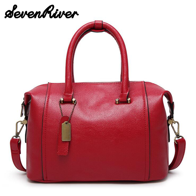 ФОТО Designer Women Leather Handbag New Popular Fashion PU Leather Women Shoulder Messenger Bag for female bolsa feminina