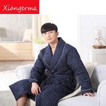 Длинные рукава хлопковое ночное белье Пижама сна Мужчины пижамы Повседневное хлопок Для мужчин одежда для сна Pijama Masculino Бесплатная доставка