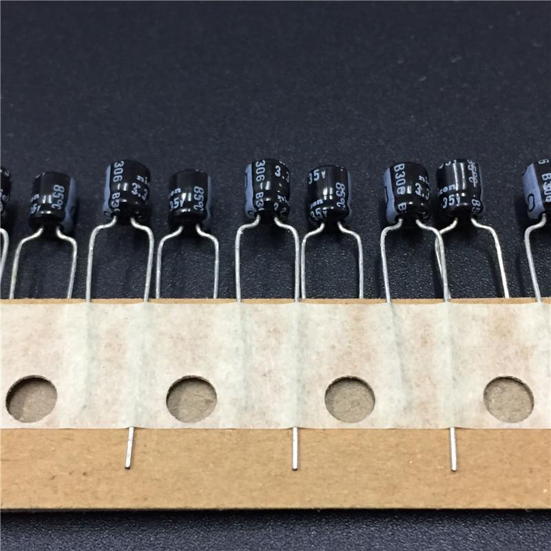 20pcs 3.3uF 35V NICHICON MA Series 4x5mm 35V3.3uF High Quality Low Profile Aluminum Electrolytic Capacitor