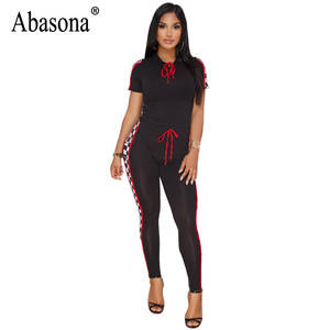 219f3ede1101 Abasona Jumpsuits Rompers Summer Women Overalls Female