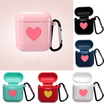 Cute Silicone Protective Case Cover Key Chain Pouch Skin for Airpods Earphones Cute Silicone Protective Case Cover Key  1.22