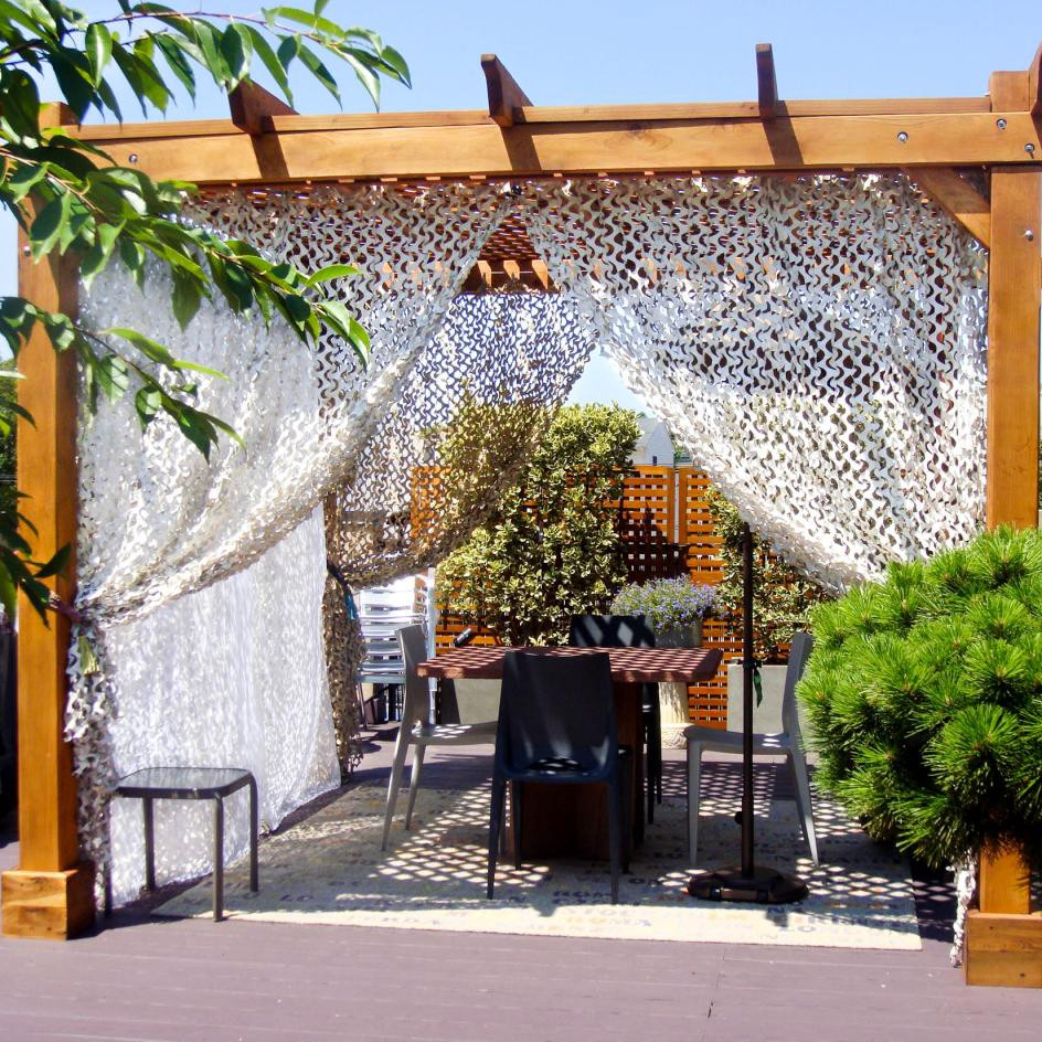 Reinforce White Hiding Mesh Camouflage Net Military For Garden Pergola Shading Gazebo Outdoor Awning 2x4 3x3 3x4 2x7 2x5 4x4 3x5