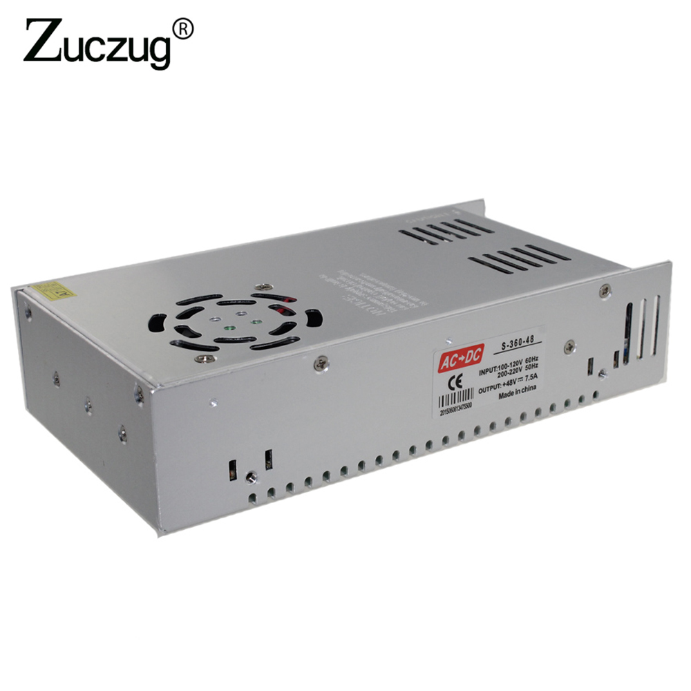 Free Shipping Ms 250 12 Smps Transformer Ac Dc Regulated 250w Power 110 220 Volts Dual 5060hz 20 Amps Supply Led Driver 48v 75a 360w For Ledstrip Stabilized Charger 48 V