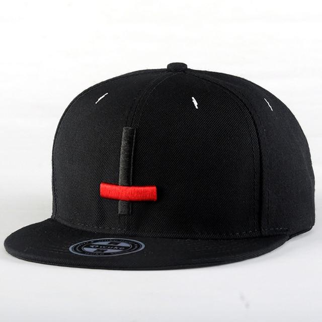 7f67a115b3e5c US $6.59  2015 New Brand Street Dance Cool Hip Hop Caps Embroidery Black  Red Cross Snapback Snap Back Men Baseball Caps Hats Bone Hat-in Baseball  Caps ...