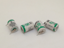 10PCS/LOT Original SAFT LS14250 14250 3.6V 1250mAh LiSOCL2 PLC battery with two pin Free Shipping цена в Москве и Питере