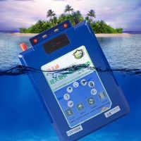 À prova dwaterproof água 12 v 200ah 100ah 60ah li-ion li-polímero bateria para motores de barco, pesca, painel solar, banco de energia de emergência ao ar livre