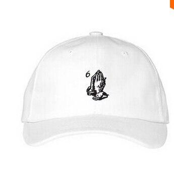 08019d36266bb Drake 6 god pray ovo palace cap white baseball snapback streetwear rare  woes hat Wiz Khalifa i think about sometimes GIANNI MORA-in Baseball Caps  from ...