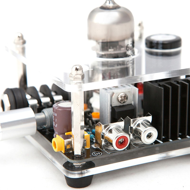 Bravo Audio V1 Valve Class A Russian EH 6922 Tube Headphone Amplifier preamp Audio connected IPHONE MP3 MP4 (2)