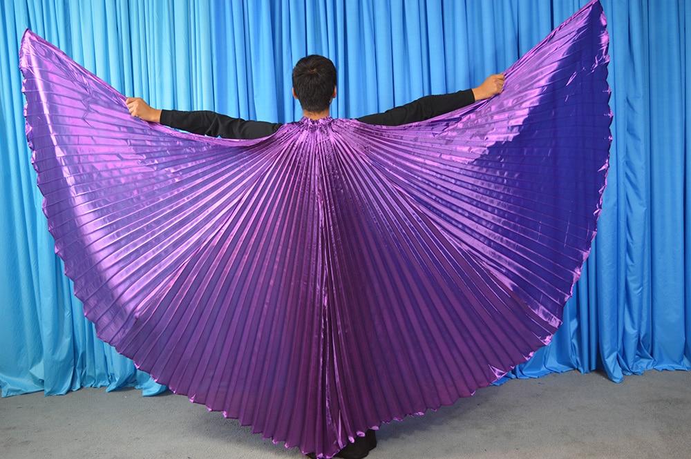 حار بيع زاوية أجنحة مصر الرقص الشرقي المصري زي إيزيس أجنحة الرقص ارتداء (غير عصا) 11 الألوان