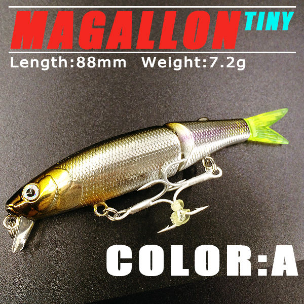 Bearking 2017 good fishing lures minnow, quality professional baits 8.8cm/7.2g, swimbait jointed bait, bearking perfect painting
