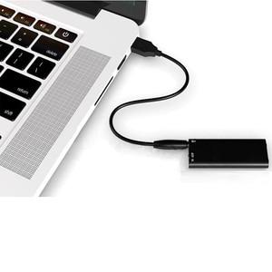 Image 2 - 2 in 1 Mini Audio Voice Recorder Pen USB Flash Disk Ultra Slim Secret Digital Small MP3 8GB Player 14 Hours Recording