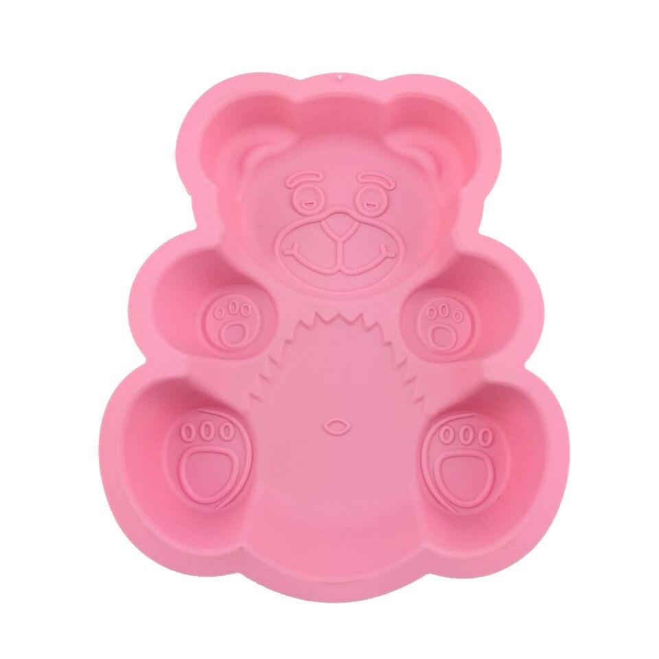яонова силикформа для выпечки в виде медведя доставка из Китая