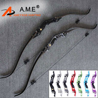 60 inches BOSEN HORN 20 55lbs Takedown Kit Bow Arrow Rest RH String Sport Feather Gift Recurve Bow Tournament Hunting Shooting