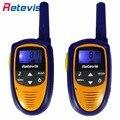 2 pcs família crianças brinquedos walkie talkie retevis rt31 8/22ch 0.5 w amador uhf display lcd portátil mini crianças de rádio transceptor