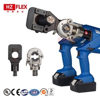 Cordless hydraulic cable cutter crimping pliers two in one electric cable cutter hydraulic clamp bolt cutter