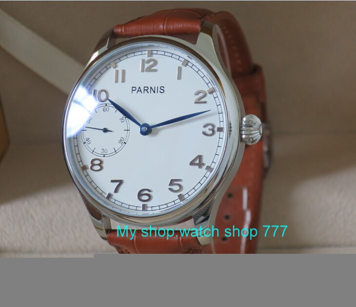 44MM PARNIS Asian ST3600 17 jewels gooseneck Mechanical Hand Wind mens watch High quality WATCH wholesale rnm00744MM PARNIS Asian ST3600 17 jewels gooseneck Mechanical Hand Wind mens watch High quality WATCH wholesale rnm007