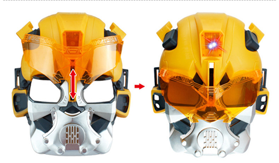 Transform Nerf Guns With Lights Mask 6 Blaster Sucking Soft Bullets Armas  Darts Airsoft Shooting Sights