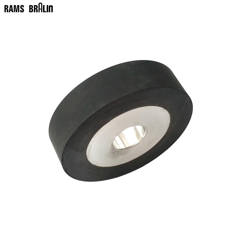 100*25*25mm Flat Rubber Contact Wheel Belt Grinder Parts Sanding Belt Set 150 25mm flat rubber contact wheel belt grinder parts sanding belt set