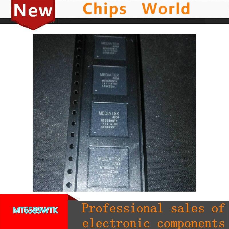 Free shipping MT6589WTK MT6589 Quad-core smartphone system single chip (SoC) Quad-core Cortex-A7 CPU проц amd soc a