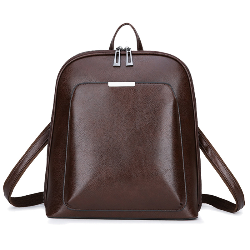 De luxe femmes sac à dos en cuir pour ordinateur portable décontracté Femme sac à dos femmes sacs cartables pour adolescentes ordinateur portable sacs à dos de voyage