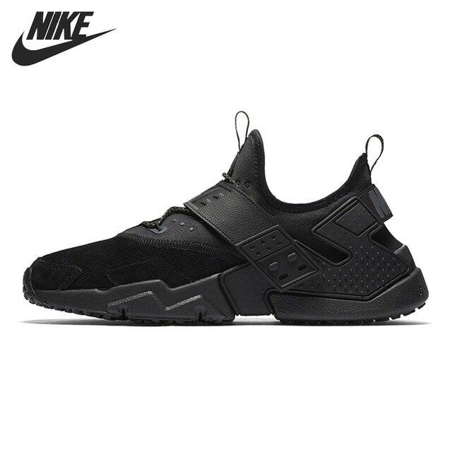 Original Nouvelle Arrivée 2018 NIKE AIR HUARACHE DÉRIVE PRM Hommes de  Chaussures de Course Sneakers