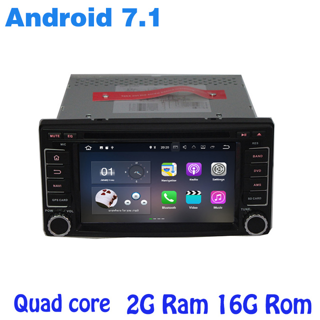 US $338 0 |Android 7 1 Quad core Car DVD gps for subaru forester Impreza  with 2g ram radio wifi 4G usb bluetooth mirror link Stereo-in Car  Multimedia