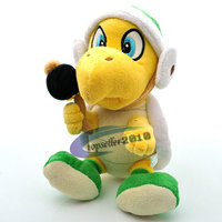 Super Mario Bros Koopa Hammer Bro 20cm Troopa Plush Soft Plush Doll Toy
