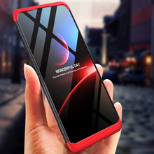 360 Degree Full Protection Hard Case For OPPO A3 Back Cover shockproof case + glass film for