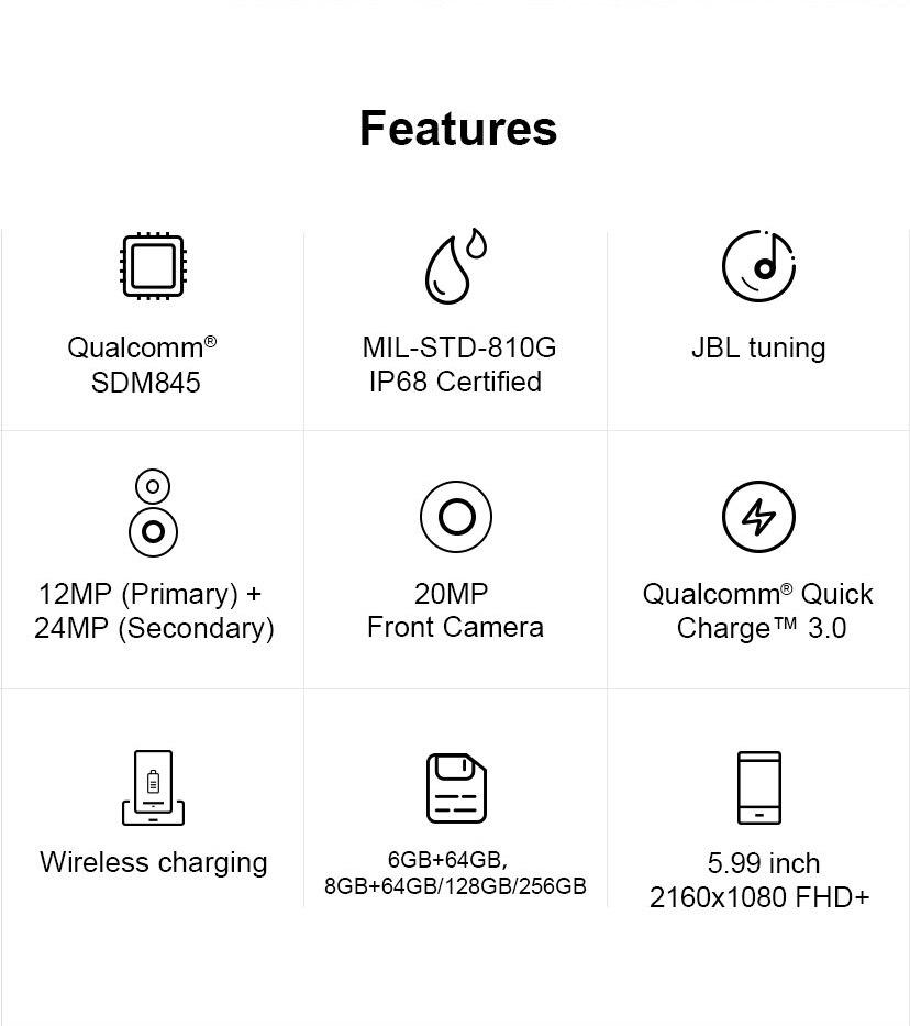 IP68 Retrovisione Cellulare Dual 3