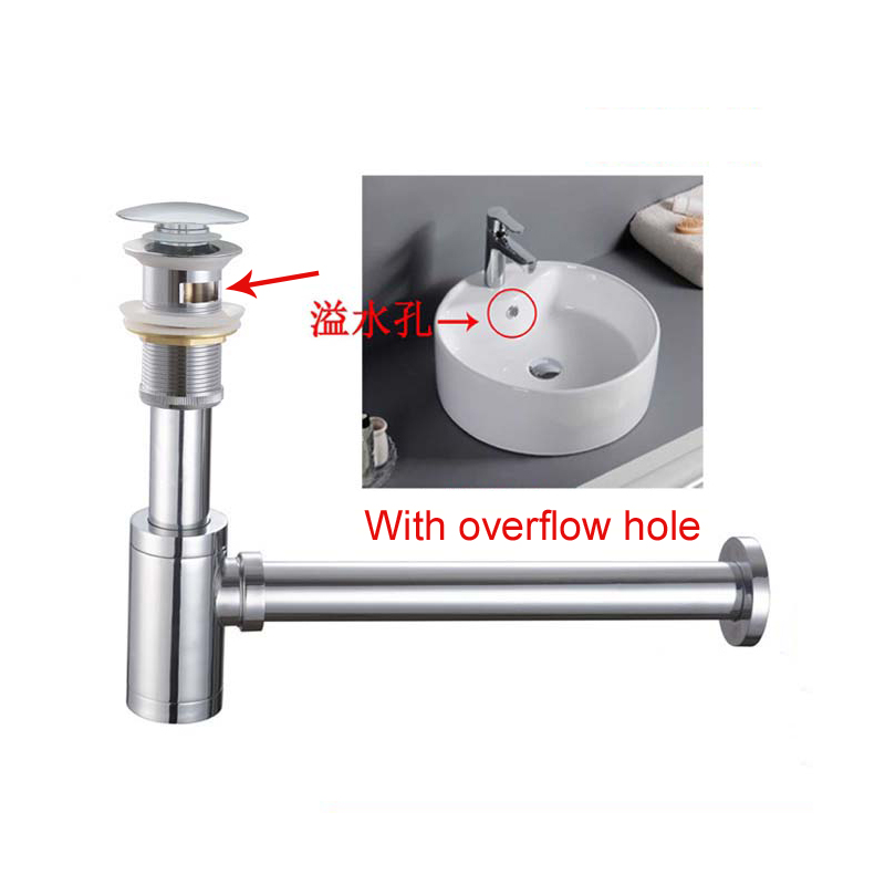 bathroom pop up drain with overflow sink water drain bathroom basin use products accessories sewer pipe gz 8509. beautiful ideas. Home Design Ideas